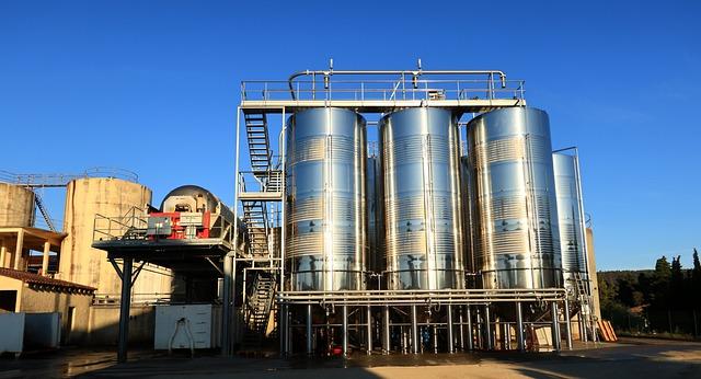 Building Tanks Wine Stainless Steel